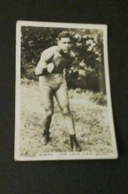 Boxing Card - Sporting Events And Stars (J.A. Pattreiouex Ltd.) - #56 Joe Louis