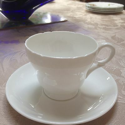 Shelley Demitasse Teacups And Saucers