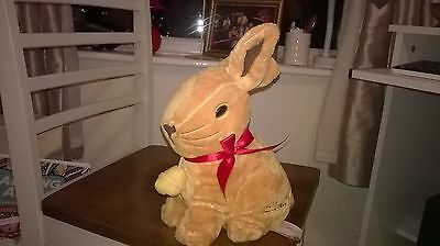 Collectable LINDT.rabbit with bell.11inch tall.