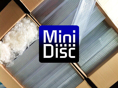 75x MiniDisc cases - MD DATA - Mini Disk box (in compact disc style) W