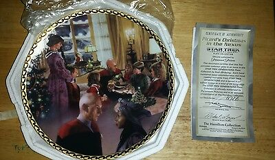 Meeting In The Nexus Star Trek Plate- The Hamilton Collection