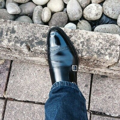 Charles Tyrwhitt  Black Double Monk Shoes Size 6.5 /7(Uk ). Superb Condition.