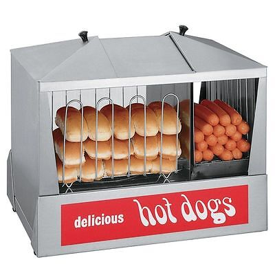 Star Commercial Concession Stand Hot Dog & Bun Steamer
