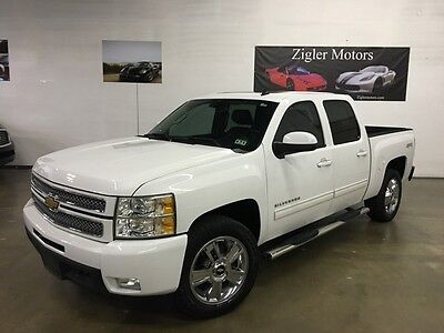2012 Chevrolet Silverado 1500 LTZ Crew Cab Pickup 4-Door 2012 Chevy Silverado crew cab V8  4WD LTZ Loaded Nav,Backup camera,Chrome..