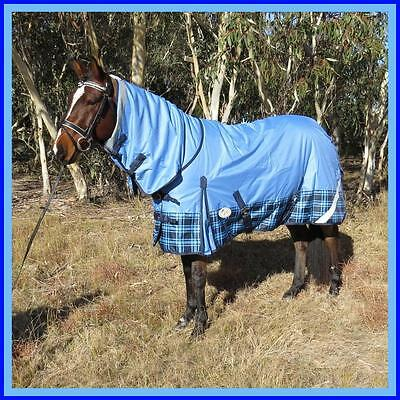 LOVE MY HORSE 600D 180g 5'3 - 6'6 Reflective Winter Combo Waterproof Rug Tartan