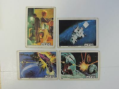 Anglo Confectionery LTD UFO Trading Cards Lot #3