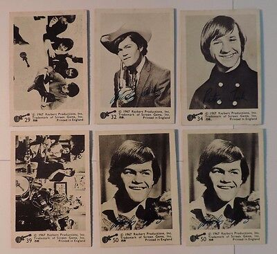 ABC Gum 1967 Monkees Trading Cards Lot #1