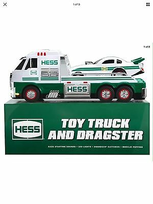 2016 Hess Toy Truck with Dragster In Hand Ready to Ship ~ No Reserve~Don't Wait!