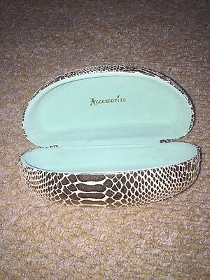 Accessorize Gold Sunglasses Case