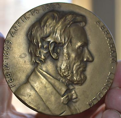 Centnnial Abraham Lincoln Second Inauguration Bronze Medal Medallic Arts Co