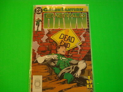 Emerald Green Lantern Emerald Dawn Issue #2
