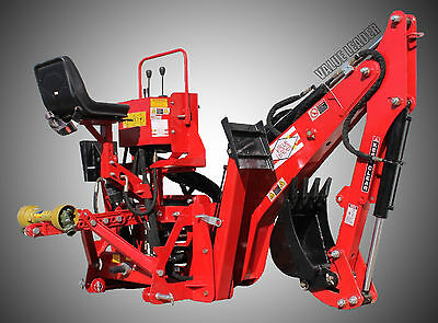 3pt Tractor Backhoe 8' Dig Self Contained PTO Powered Cat.I/II 35Hp+ (VL-BHM8)