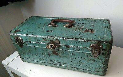 Vintage 1950s Tool or Tackle box