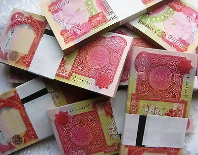 New Iraqi Dinar Uncirculated 2X25,000 (50,000) UNC IQD Trusted Seller, Free S&H