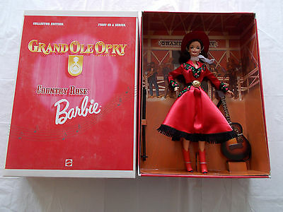 1997 Grand Ole Opry Collector Edition COUNTRY ROSE Barbie-(#17782)