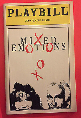 MIXED EMOTIONS Playbill w/ Katherine Helmond, Harold Gould (September 1993)