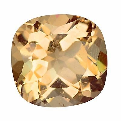 3.18 Ct WOUNDERFUL TOP FIRE 100% NATURAL BROWNISH PINK BRAZIL MORGANITE GEMSTONE