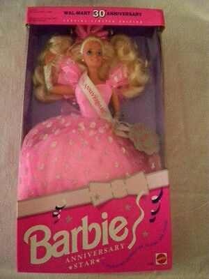 1992 Wlmart 30Th Anniversary Special Limited Edition Barbie