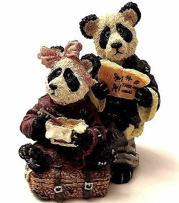 "Boyds Bears  ""Hsing Hsing and Ling Ling...Wongbruin Carryout"" MIB  #2433"