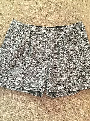 M & S Tweed Girls Shorts Age 10-11 Years