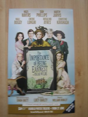 The Importance of Being Earnest-Theatre Poster