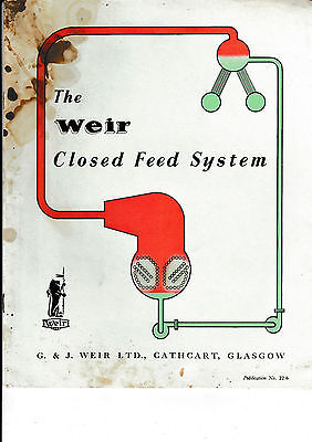 Weir   Closed Feed System   24 Page  Sales Brochure.    .