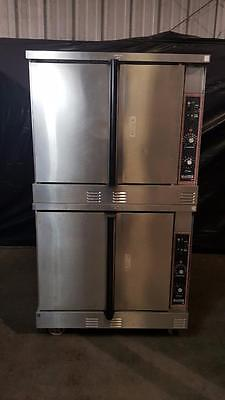Garland MCO-GS-10-E Full Size Double Stack Natural Gas Convection Oven