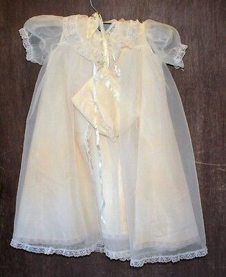 vintage 4 piece Christening outfit