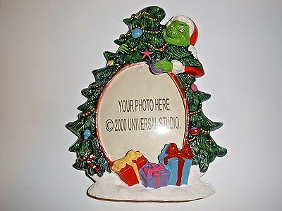 How the Grinch Stole Christmas Tree Picture Frame 2000 Universal Studio