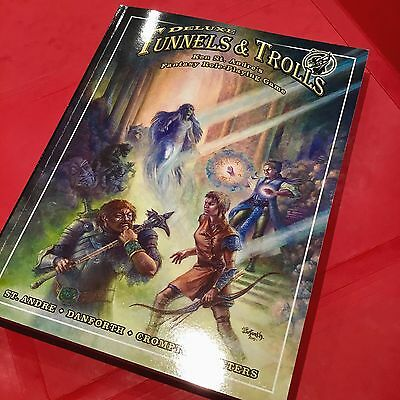Deluxe Tunnels & Trolls - Fantasy Roleplaying Game (RPG) by Flying Buffalo. New.