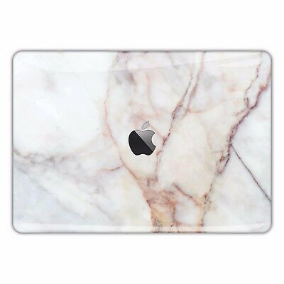 Marble Macbook Skin Decal White Marble Sticker Pro Air Cover Texture Gold FSM044