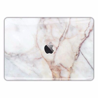 White Gold Marble Macbook Skin Decal Pattern Cover Stone Texture Sticker FSM044
