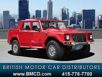 1990 Lamborghini Other LM002 4X4 with only 18,124 miles! 1 out of 48! EXTREMELY RARE LAMBORGHINI LM002 4X4 LOW MILES EXCELLENT CONDITION