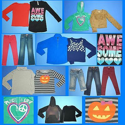 15 Piece Lot of Nice Clean Girls Size 8 Fall School Winter Everyday Clothes FW3