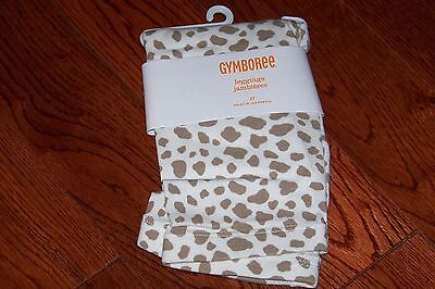 Nwt Gymboree Right Meow Leopard Print Leggings 3T