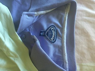 Ladies Callaway Golf Polo Tops Size 14