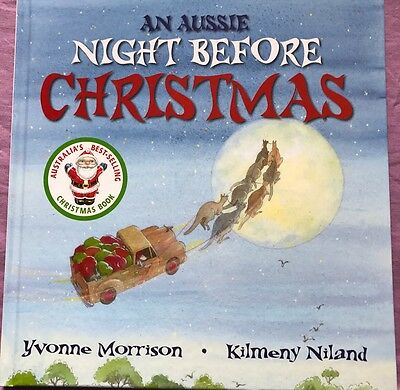 An Aussie Night Before Christmas Book NEW