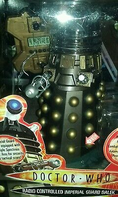 """Dr Who 12"""" Imperial Guard Dalek New Mint.free Post"""