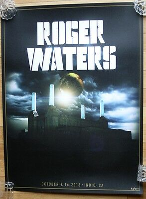 Roger Waters VERY Limited Edition Desert Trip 10/9-16 Concert Poster #103 /500