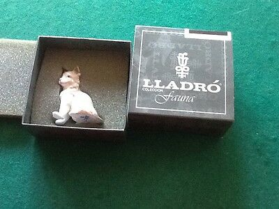 lladro Miniature Kitten In Original Box