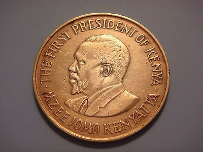 Kenya 10 Cents, 1971, The First President of Kenya