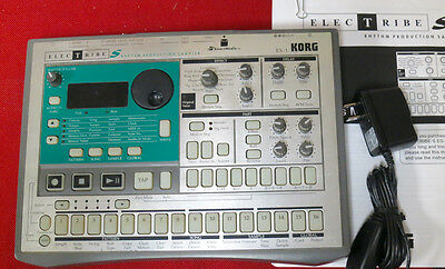 Korg ES-1 Electribe Rhythm ES1 sampler  Ready to ROCK! Loaded w/factory samples!
