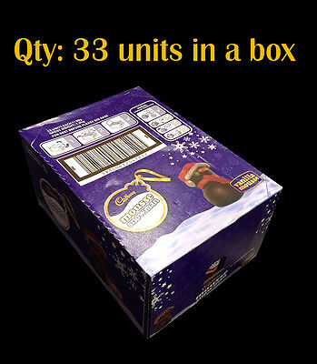 Cadbury Mousse Snowman Milk Chocolates 33 units in a Whole Box - Christmas Party