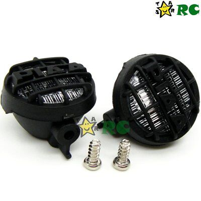 RC 1/10 2 Lamp Position 18mm Plastic For Crawler Off Road Light Bar Upgrade Part