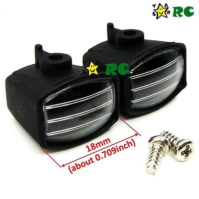 RC 1/10 2 Lamp house Position F Crawler Truggy Truck Upgrade Part 5mm LED Light