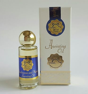 Frankincense and Myrrh Anointing Oil From Israel