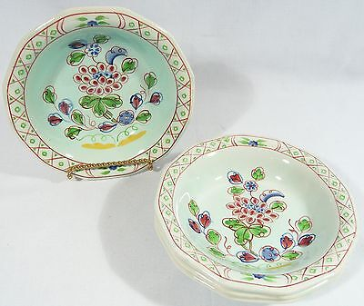 4 ADAMS  CALYX Ware  OLD BOW Fruit Bowls  2