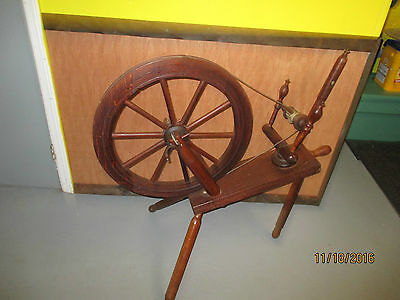 Vintage Spinning Wheel,over 100 Years Old
