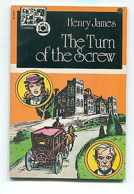 """The Turn of the Screw"", Henry James, Pendulum Illustrated, ghost story, comics"