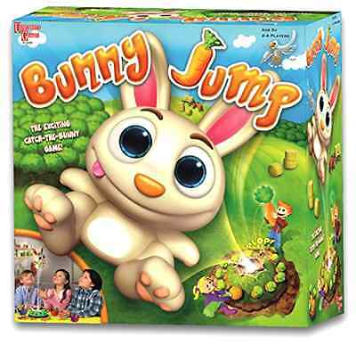 Bunny Jump Catch the Bunny Game with 4 Coloured Baskets 12 Carrots and Spinner